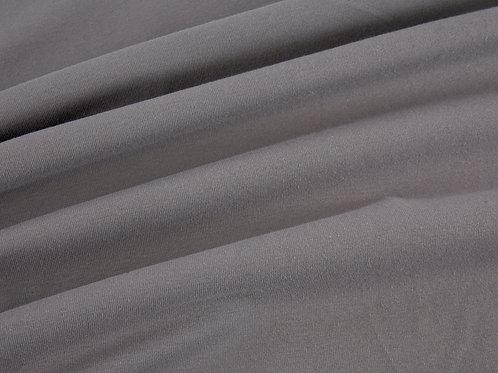 Plain Cotton Jersey - Grey
