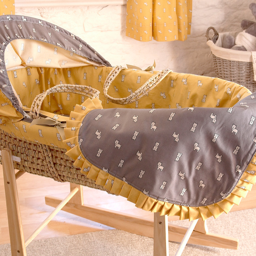 moses basket feature shot