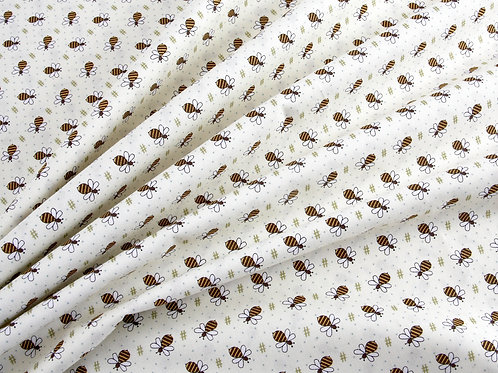 Henry Glass - All About The Bees Fabric (price per half metre)