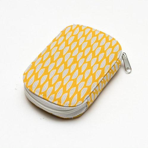 Sewing Kit Yellow Leaf