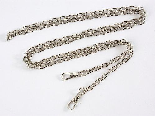 Bag Chain Strap (link chain) - Silver 120cm