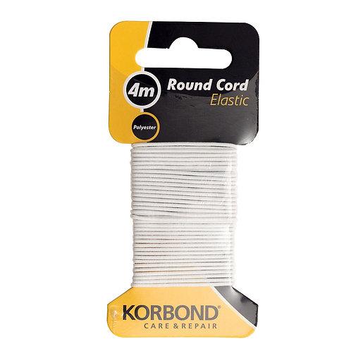 Round cord elastic, 4m