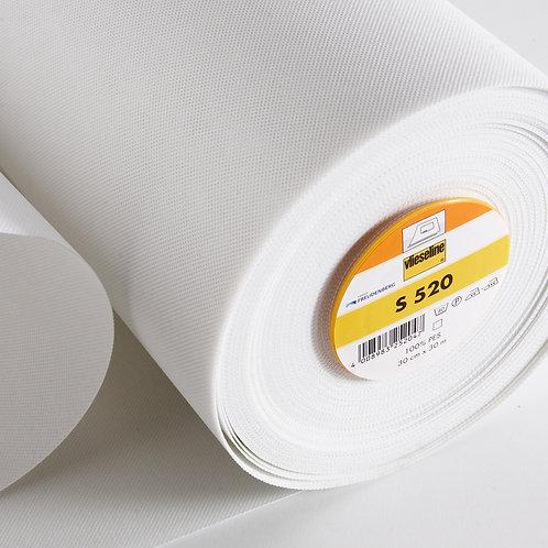 Vlieseline S520 Pelmet Stiffener (price per metre)