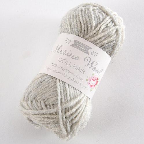 Tilda Doll Hair Yarn - Fog