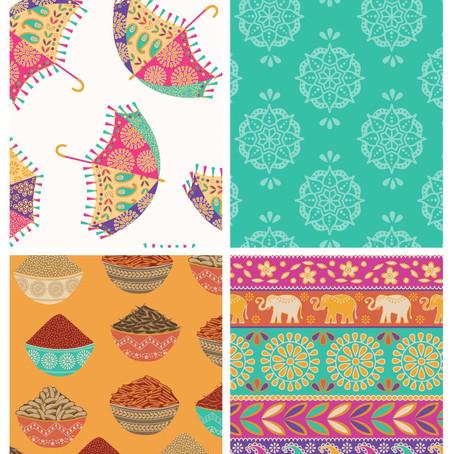 New Delhi Fabric lengths