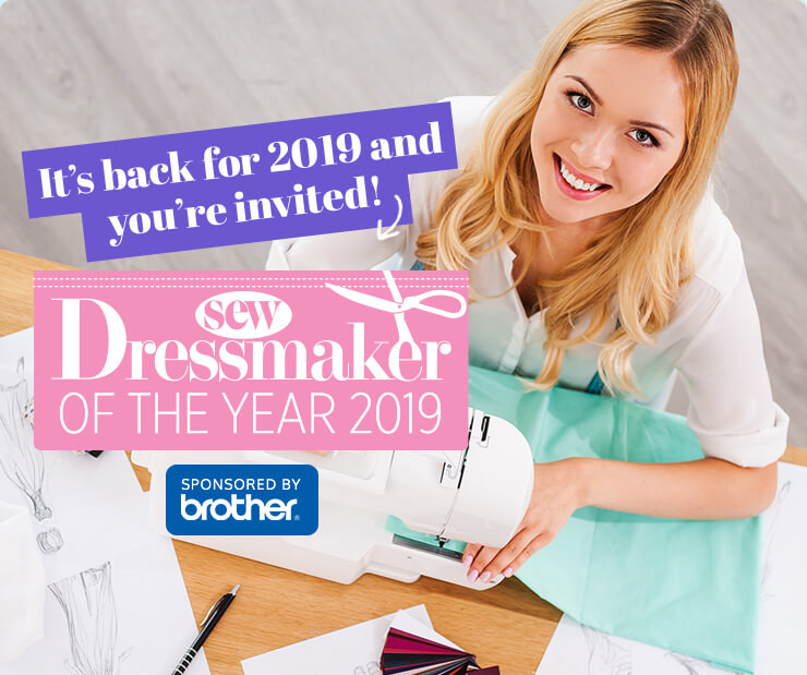 I'll be on the judging panel of Dressmaker of the Year next year, good luck if you've entered!