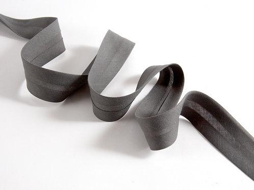 5m Bias Binding - Dark Grey Plain