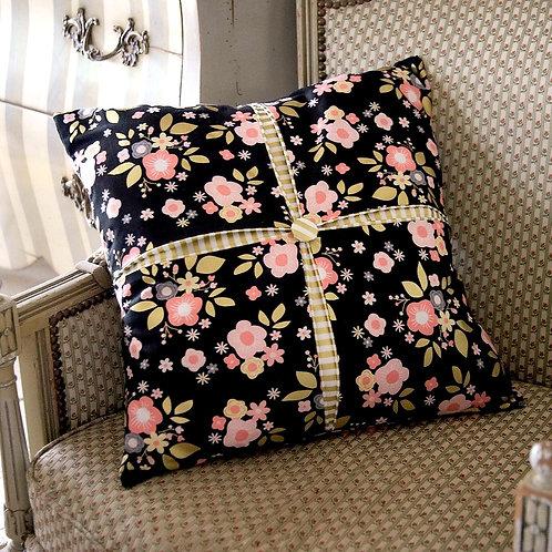 Box Pleat Cushion Cover Kit - Riley Blake Stripe