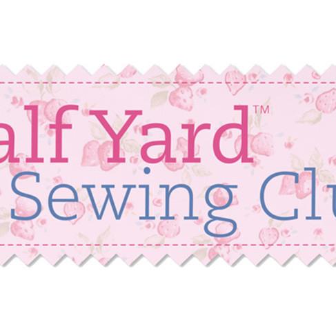Half Yard Sewing Club discount!