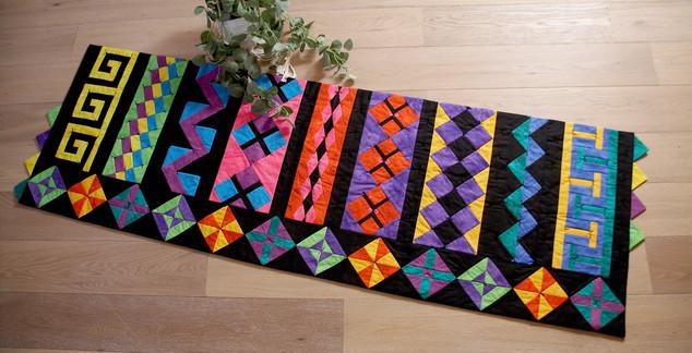 Half Yard Sewing Club Seminole Quilt