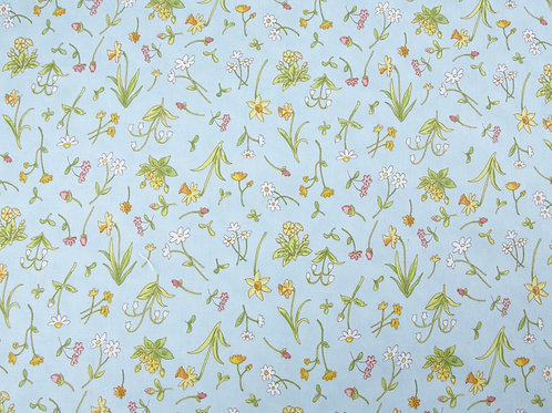 Clothworks - Guess How Much I Love You Flower Fabric (price per half metre)