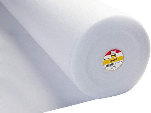 Vlieseline H640 Iron On Medium Loft Volume Fusible Fleece (price per metre)
