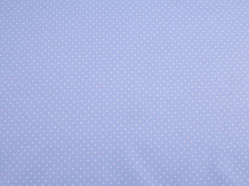 Pale Blue Pin Spot Cotton