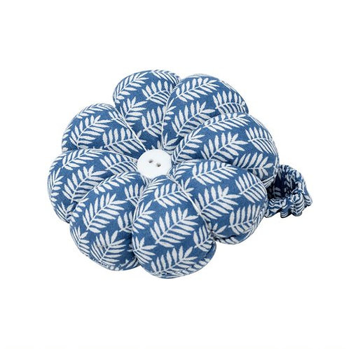 Blue Fern Wrist Pin Cushion
