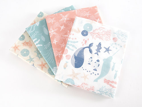 4x Driftwood fat quarters