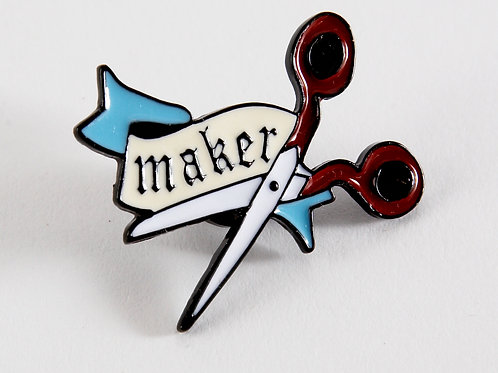 Enamel Pin - Maker