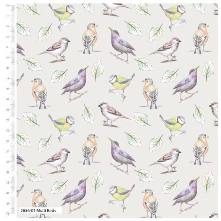 Garden Birds Fabric Collection Update