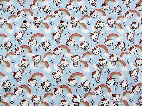 Hello Kitty Rainbows Cotton