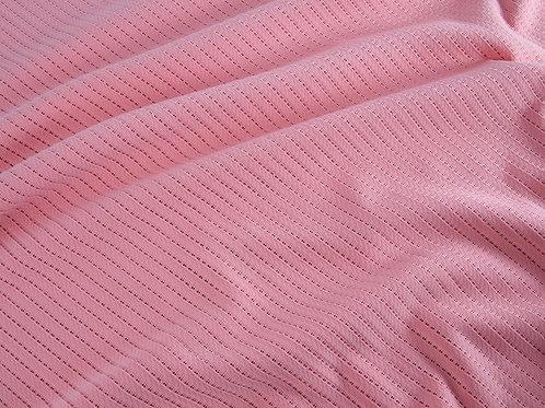 Self Stripe Jersey - Coral