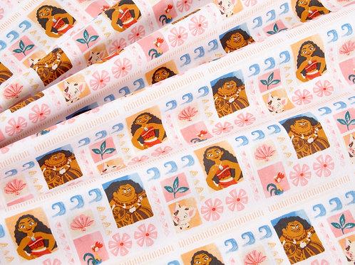 Disney's Moana Print Fabric (price per half metre)