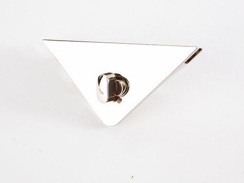 Corner Purse Lock - Silver