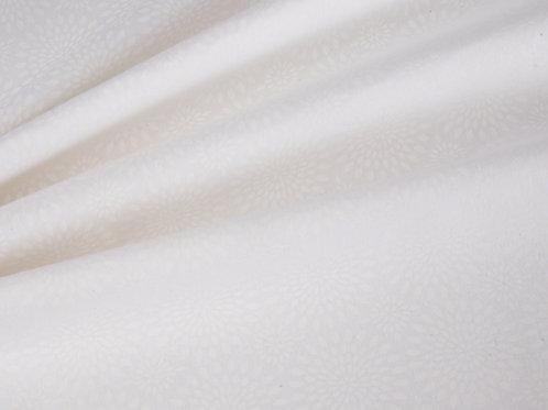 Essential Sunburst - White Fabric (price per half metre)