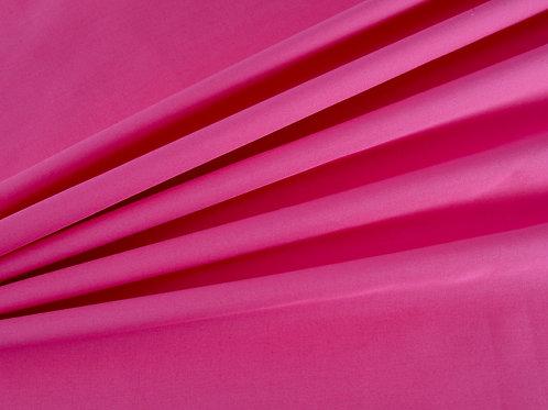 Plain Cotton Poplin - Fuchsia Pink (price per half metre)