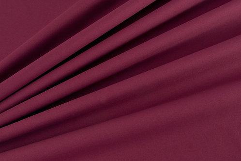 Plain Cotton Poplin - Wine Purple