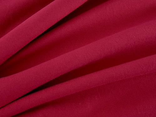 Plain Cotton Jersey - Wine Red