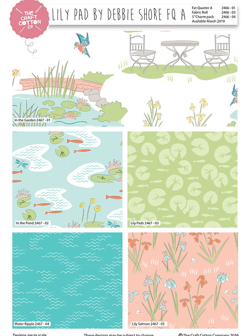 Lily Pad  5 x 1 metre Pack - In the Pond