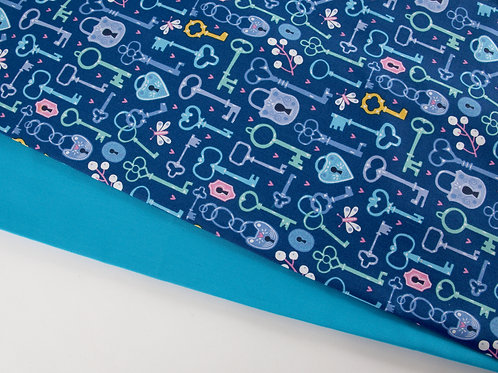 Perfect Pair - Dashwood Studio Keys + Turquoise (0.5m pieces)