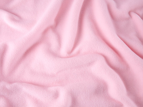 Plain Antipil Fleece - Pale Pink