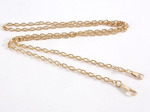 Bag Chain Strap (link chain) - Bright Gold 120cm