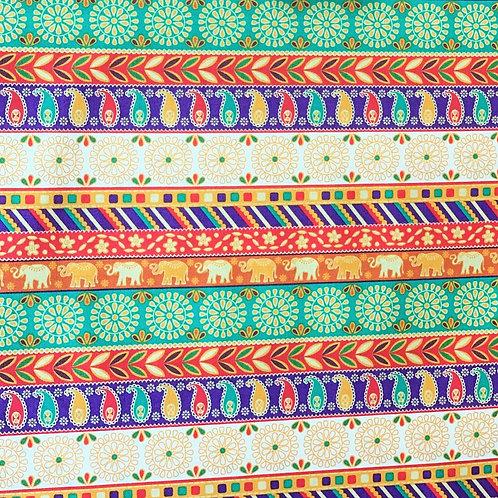 'New Delhi' fabric by Debbie Shore – Ribbon