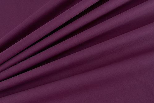 Plain Cotton Poplin - Wine  red (price per half metre)