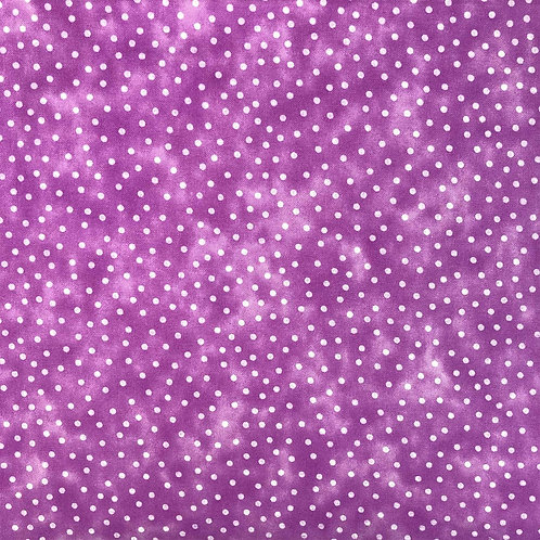 Orchid Purple Spot Textured Blender Fabric (price per half metre)