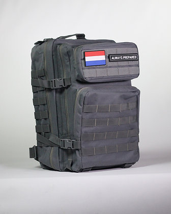 Grey Warrior Backpack 45L