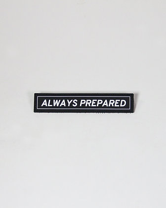 Always Prepared Patch PVC