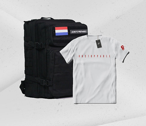 Combideal + Backpack & T-shirt