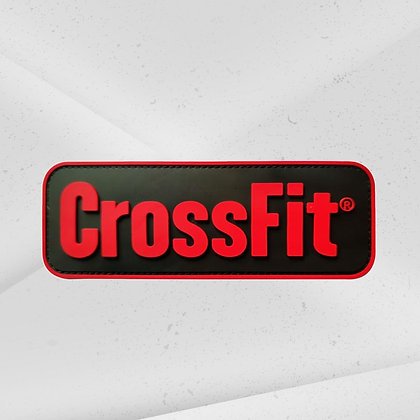 CrossFit Patch Rood PVC