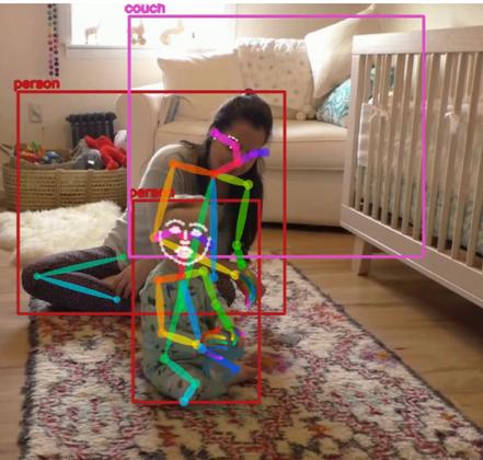 Computer vision in child development