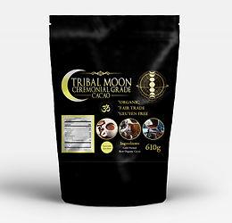 610g Tribal Moon Ceremonial Grade Chocolate Cacao