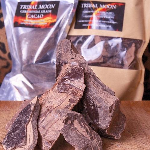 BULK - 2 x 610g Tribal Moon Ceremonial Grade Chocolate Cacao
