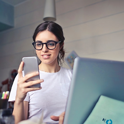 image-of-woman-looking-happy-at-phone-wh