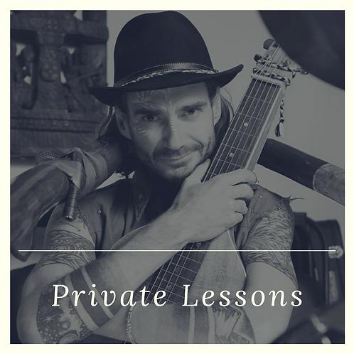 1 x PRIVATE LESSON