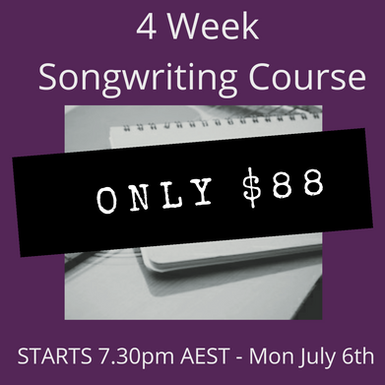 Songwriting Course with Jay Hoad