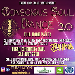 Conscious Soul Dance 2.0 - FULL MOON PARTY