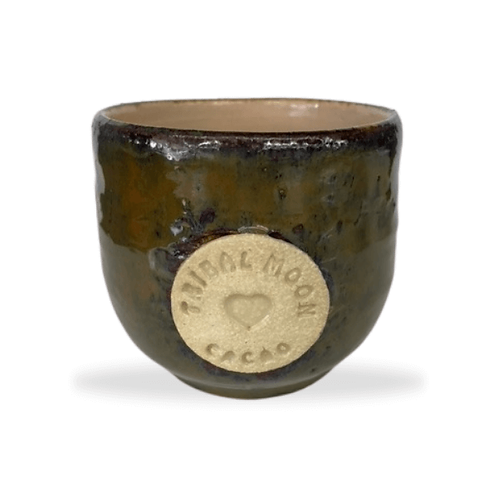 Tribal Moon Cacao Mugs -  :Limited Edition Handmade in QLD Australia