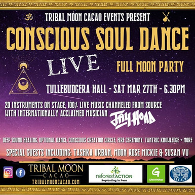 Conscious Soul Dance - FULL MOON PARTY