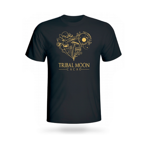 Tribal Moon Cacao T-Shirt 1